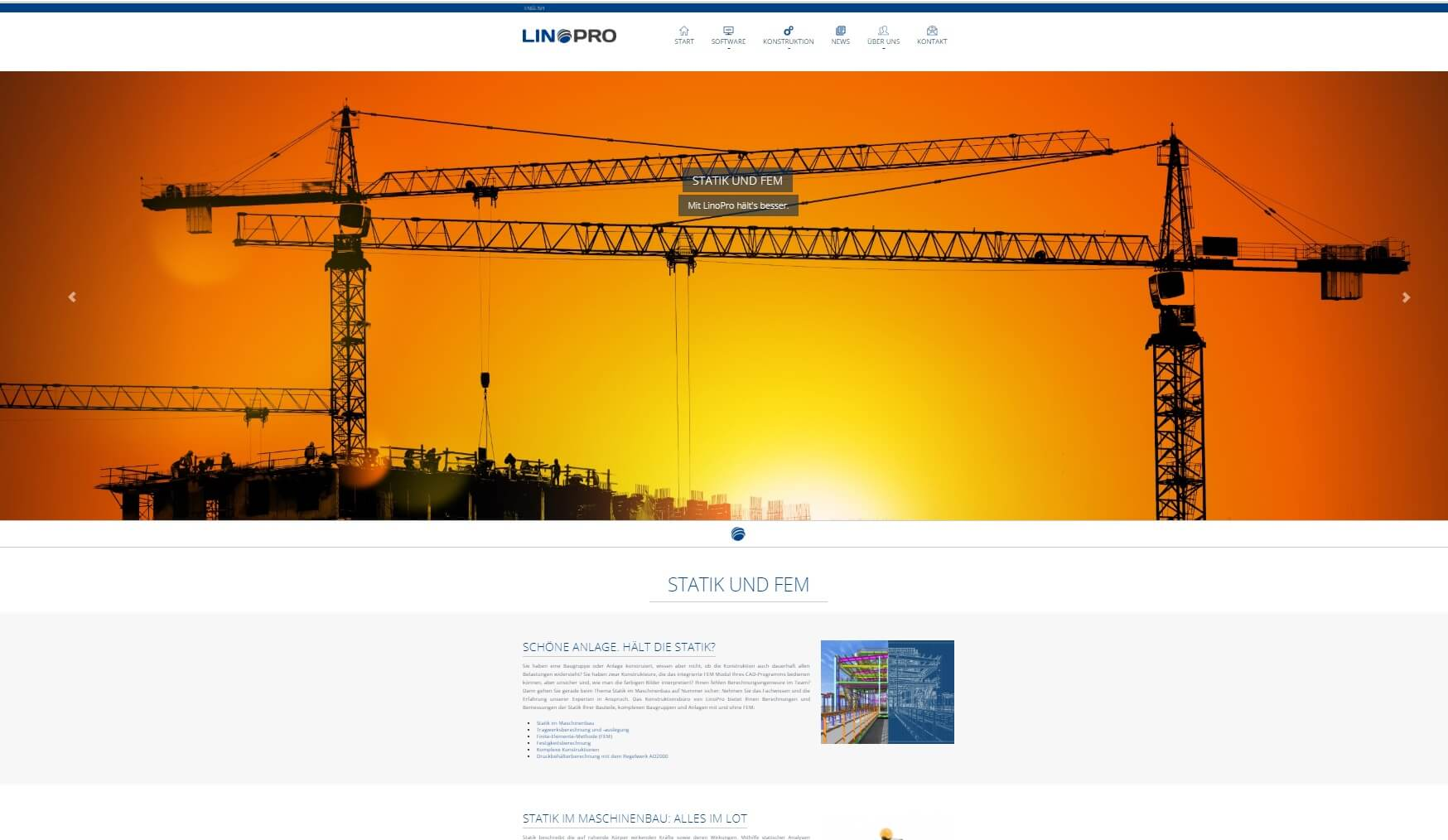 LinoPro relaunches website
